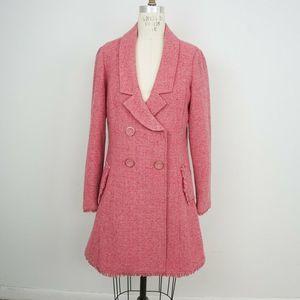 Cabi Madison Avenue Tweed Coat Jacket